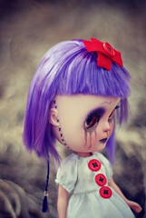 Stiched at the Seams... ( pixiepoo ) Tags: doll icy custom pixiepoo