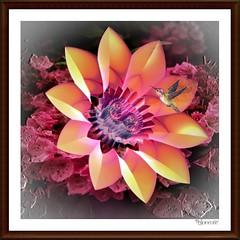 fleur (bloorose-thanks 4 all the faves!!) Tags: flower art digital render fractal incendia