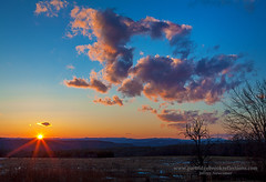 Finale (Jeff Newcomer) Tags: winter sunset clouds newhampshire chesterfield cometpanstarrs