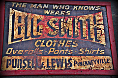 Big Smith Clothes Rusty Old Sign (Photographybyjw) Tags: old sign vintage found this big north rusty smith clothes carolina another remembered brand obscure photographybyjw
