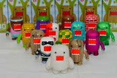 New Domos so far! (WindUpDucks) Tags: 5 domo series qee toy2r 2013