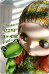 bestest green friend ^.^