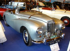 Sunbeam Alpine Special cabriolet 1954 (gueguette80 ... non voyant pour une dure indte) Tags: old mars cars convertible exposition british autos bourse sunbeam cabriolet arras anciennes anglaises 2013 ravera