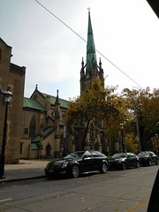St. James Cathedral (Sooks416) Tags: old city windows urban toronto building tower history classic church window glass saint st architecture james downtown king cathedral bell side gothic 1800s style steeple east stained jarvis sanctuary chimes tdot nofilter revival rectory
