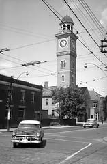 Toronto Fire - Station 14, 1952 (Sofie Lasiuk) Tags: blackwhite firehouse firedept firehall 1952 ossington torontofire station14