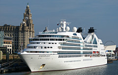 L2016_4534 - SEABOURN QUEST - Liverpool (www.jhluxton.com - John H. Luxton Photography) Tags: seabournquest liverpool liverpoolcruiseterminal liverpoollandingstage merseyside liverpoolpierhead carnivalcorporation uk england johnhluxtonphotography leica portofliverpool seabourncruises seabourncruiselines ship passengership cruiseship cruiseliner irishseashipping rivermersey wwwjhluxtoncom
