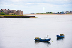 Tweedmouth (marktmcn) Tags: tweedmouth tweed river mouth banks bankside berwick berwickupontweed northumberland borders fishing boats warehouses d610 nikkor 28300mm