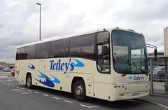 S33TET Tetley's in Blackpool (j.a.sanderson) Tags: s33tet tetleys blackpool leeds volvo b12b plaxton paragon coach coaches