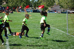 Victory Dance (daddydell28) Tags: soccer peewee bradleyimages nikond40