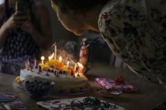 18 (Ella_likes_rain) Tags: birthday cake candles wish party mood