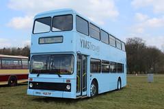 YMS Travel, Canterbury. (steve vallance coach and bus) Tags: k825tkp leylandolympian northerncounties eastkent ymstravel southeastbusfestival detling