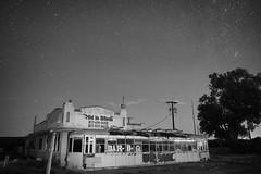 (DeeAshley) Tags: nightphotography night astrophotography sony sooc unedited mono abandoned rurex rural urbex urbanexploration westtexas decay sky stars slowshutter longexplosure nocolor blancoynegro bandw summer august 2016 texas tx ranger gordon