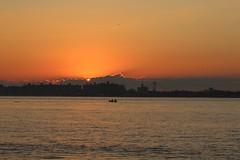 Sunset - Jamaica Bay (cgnss13) Tags: breezypoint breezy point queens new york newyork newyorkcity city jamaicabay jamaica bay brooklyn sunset boat bridge skyline