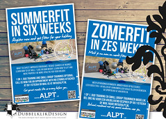 30 ALPT 2016 (gabrielgs) Tags: graphicdesign grafischevormgeving vormgeving design posters events advertising reclame sport fit flyer folder