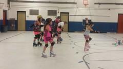 Roller Derby Practice 9-12-2016