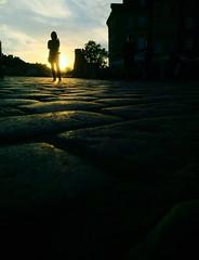 """""""I w stron soca"""" by Dwa Plus Jeden (sjpowermac) Tags: warszawa royalcastle sunset silhouette sun oldtown staremiasto warsaw poland cobblestone brukowiec soca"""