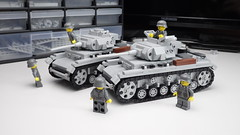 Panzer III Ausf. J (Corporellicus) Tags: lego ww2 wwii panzer tank custom minifigs brickarms