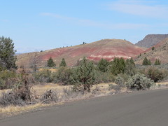 042-02 2007 USA Tour, Oregon, John Day Fossil Beds, Painted Hills Unit (Aristotle13) Tags: 2007 usa tour oregon paintedhills