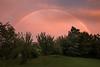 Last stroke of hope... (Lionoche) Tags: rainbow arcenciel jardin garden epiclight evening broye