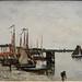 BOUDIN Eugène,1871 - Port d'Anvers (Orsay) - 0
