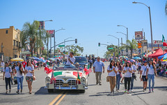 Mayor Garcetti at the 70th East Los Angeles Mexican Independence Day Parade