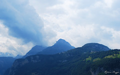 Am Vierwaldstttersee (DameBoudicca) Tags: switzerland schweiz suiza suisse svizzera svizra  vierwaldstttersee lacdesquatrecantons lagodeiquattrocantoni laidalsquatterchantuns lakelucerne alps alperna alpes alpen alpi  mountain berg montaa montagne montagna  blue bl blau blu azul bleu  cloud moln wolke nube nuage nuvola
