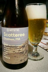 Scatteree (Pak T) Tags: scatteree gose mystic chelsea massachusetts ale alcohol beer beverage drink samsunggalaxys5 untappd sour coriander juniperberries seasalt mysticbrewery chatham