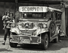 Scorpion (Beegee49) Tags: jeepney philippines bacolod city