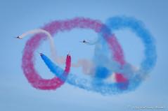 Red Arrows (DrAnthony88) Tags: bluesky hawkt1 iwmduxford modernmilitary nikkor200400f4gvrii nikond810 redarrows royalairforce unitedkingdom aircraft airshow british raf