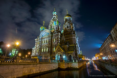 St. Petersburg by Night (Sabrina.I) Tags: night stpetersburg cathedral city russia after dark