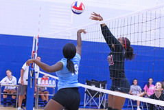 IMG_3174 (SJH Foto) Tags: girls volleyball high school stroudsburg pa pennsylvania team tween teen teenager varsity net battle spike block action shot jump midair burst mode