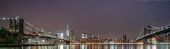 Brooklyn Park 2 (noaxl.berlin) Tags: manhatten sony a7rii samyang rokinon walimex 14mm newyork ny architektur architecture skyscraper night brooklyn lights skyline bridge stars