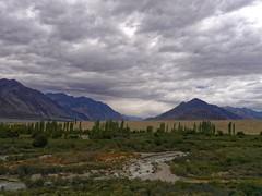 Somewhere Between Nubra and Pangong (Lazybug) Tags: ladakh nubra pangong india geography nature beauty lumixg5 cluds mountains