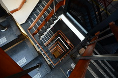 (Sam Tait) Tags: british shoe corporation leicester new parks wemberley derelict abandoned offices stairs staircase