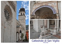 Cattedrale di San Vigilio Trento Italy (Vee living life to the full) Tags: trento italy streets shopping coffee cattedraledisanvirgilio nikond300 fountain ladies leger monuments postcards ancientdoor