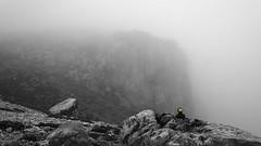 Ente (bussibaer1) Tags: preinerwand berg nebel felsen ente schwarz weis stein langzeit bw mountain fog cloud duck longtime nikon5200