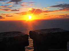 Sunset from atop O'Brien's Tower at Cliffs of Moher (iatraveler) Tags: cliffsofmoher countyclare ireland sunset