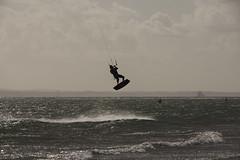 Lifted (vallgall) Tags: kitesurfing haylingisland