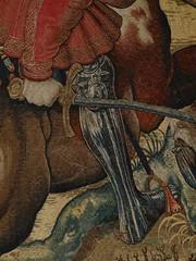 1531-1533 - 'The Month of December, The Hunts of Maximilian' (design by Bernard (Barend) van Orley), Brussels, Muse du Louvre, Paris, France (roelipilami) Tags: 1531 1533 december decembre hunts maximilian les chasses de maximilien jachten maximiliaan barend bernard van orley dermoyen workshop atelier ferdinand fernando habsburg bruxelles brussel brussels bruselas louvre musee museum paris parijs jagden museo renaissance tapestry tapisserie bildteppich wandtapijt horse hunting armour armor legs