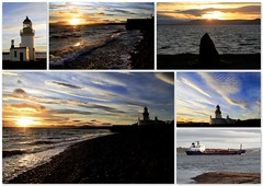 Chanonry point  4/1/13 (Ally.Kemp) Tags: winter sunset lighthouse point moray blackisle firth chanonry fortrose rossshire