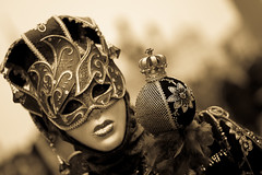 portrait of a Venetian Carnival mask, italy (anthony pappone photography) Tags: pictures carnival venice party people blackandwhite bw italy white black blancoynegro festival digital canon lens photography photo blackwhite italia foto mask image picture culture unesco fotografia carnevale venezia maschera reportage photograher  phototravel      danze          mark5dii