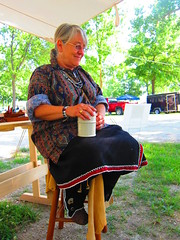 Coffee-Early morning at the 1840's Living History Encampment (1coffeelady) Tags: fingerweaving powwow intertribal livinghisotry traders blankettraders intertribalpowwow 1840slivinghistory livinghistoryencampment indianalivinghistory indianareenactments usartillery voyaguers furtraders 18thcenturyfrenchindianfurtrader nativeamericanhistoryculture greatlakeregion encampment britishfrenchamericantroops livinghistoryartisans smithies livinghistoryencampments easternwoodlandregalia livinghistoryregalia livinghistoryreenactors frenchandindianfurtrade livinghistoryblankettraders