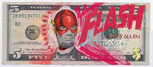 美鈔上的正義聯盟!