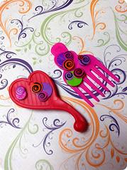 Swirly Brights Magenta - Comb (Teahoshi) Tags: cute mod colorful doll review magenta kawaii cutiepops swirlybrights