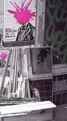 Métaphysique de la Bourgeoisie -  Metaphysical of the Middle-class (p.franche burn out) Tags: brussels poster mirror europe belgium belgique humor bruxelles humour miroir society brussel société affiche metaphysical etterbeek belgïe partielle métaphysique désaturation lx3 pascalfranche pfranche