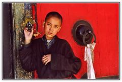 TIBET KAILASH 2003. I'll be a monk. (vittorio vida) Tags: tibet c