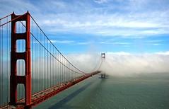 That was San Francisco (ho_hokus) Tags: ocean sf sanfrancisco california ca bridge sea usa water weather fog clouds digital bay view unitedstates goldengatebridge goldengate vista sanfranciscobay westcoast span marinheadlands 2007 fogbank ggb nikond80