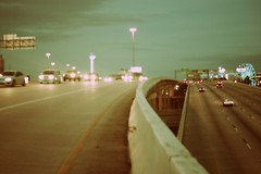 Highway 61 (Génial N) Tags: usa america highway texas pentax houston citylights pentaxk01