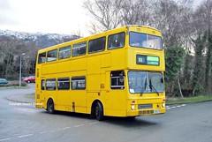 Park Lane veteran 15/01/13 (MCW1987) Tags: travel west bus 405 mk2 llanberis midlands metrobus mcw padarn 2889 c889fon