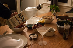 vodka (Erin Eli) Tags: christmas fish dinner dill potatoes yum polish vodka beets kale peasant